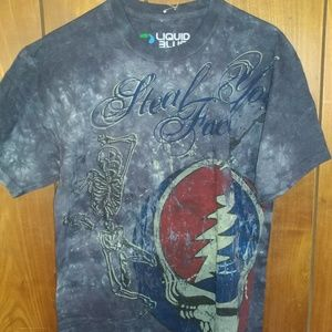 Grateful Dead steal your face tee